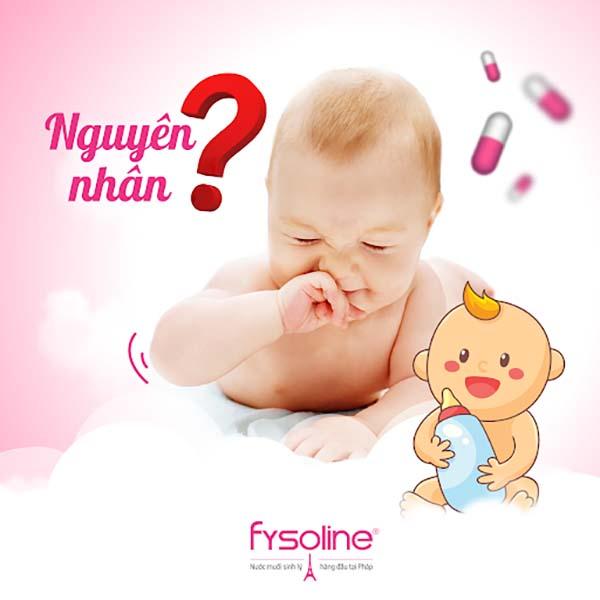 Nguyên nhân khiến trẻ bị ngạt mũi