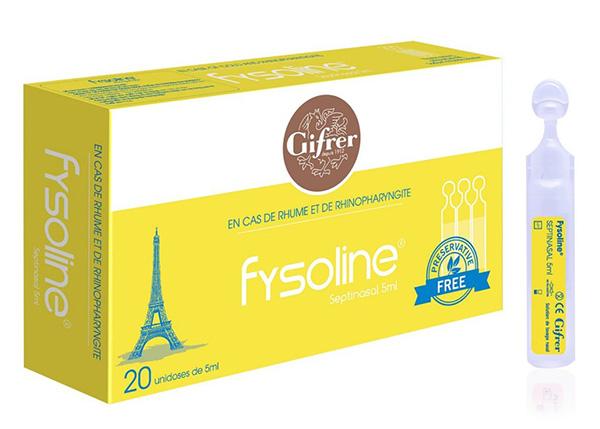 Nước muối sinh lý Fysoline vàng