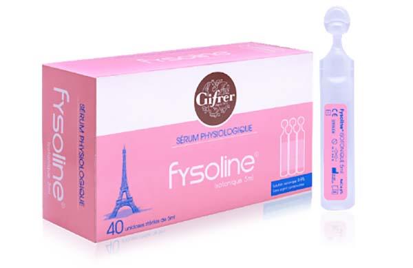 Nước muối sinh lý đẳng trương nhỏ mũi Fysoline hồng