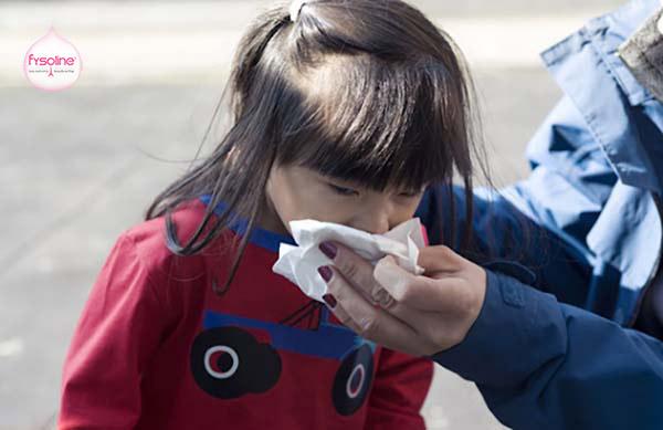 Triệu chứng khi trẻ bị cảm lạnh