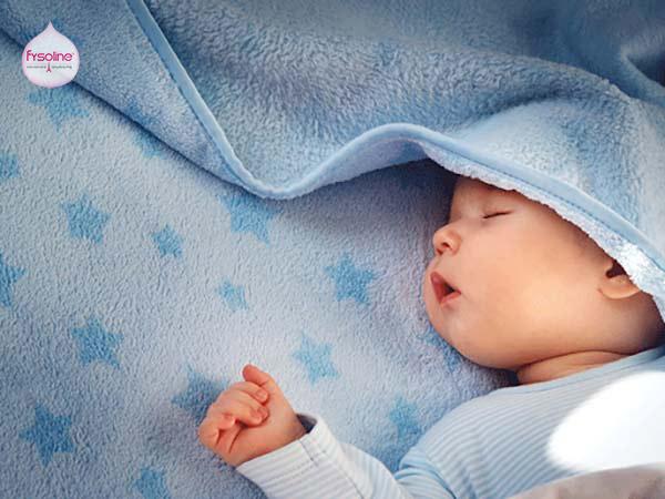 Cho bé ngủ nhiều hơn khi bé cảm lạnh sổ mũi