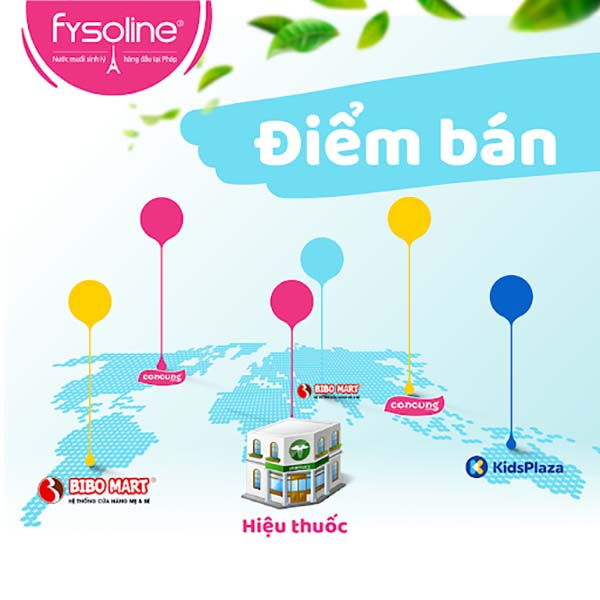 Điểm bán Fysoline