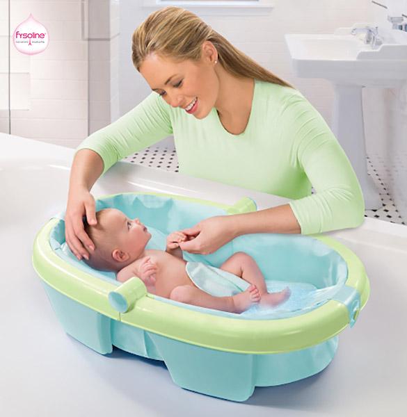 Chuẩn bị trước khi tắm cho trẻ
