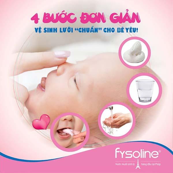 Hướng dẫn vệ sinh miệng cho trẻ sơ sinh hàng ngày