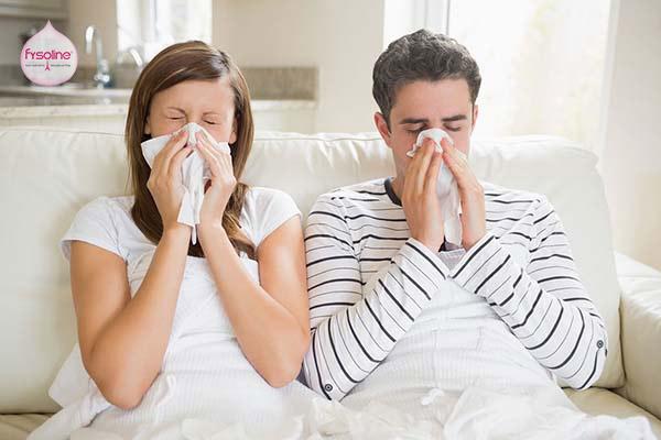 Chảy nước mũi liên tục là biểu hiện của bệnh viêm mũi dị ứng