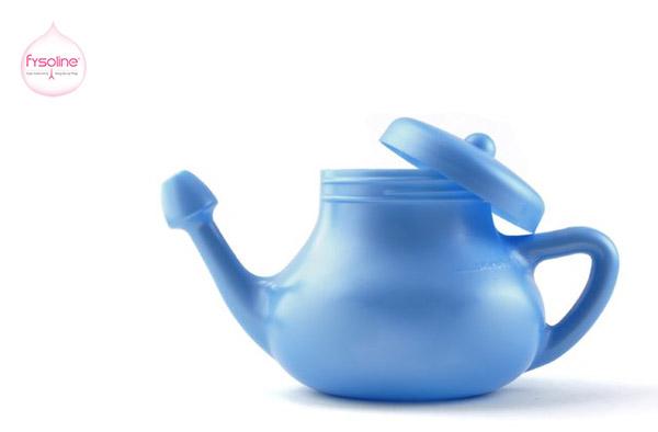 Cách vệ sinh mũi bằng nước muối khi sử dụng bình Netipot