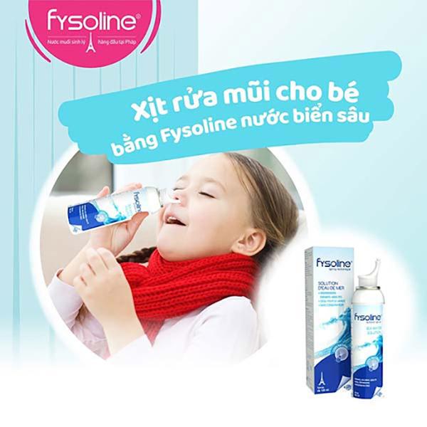 Rửa mũi bằng bình xịt