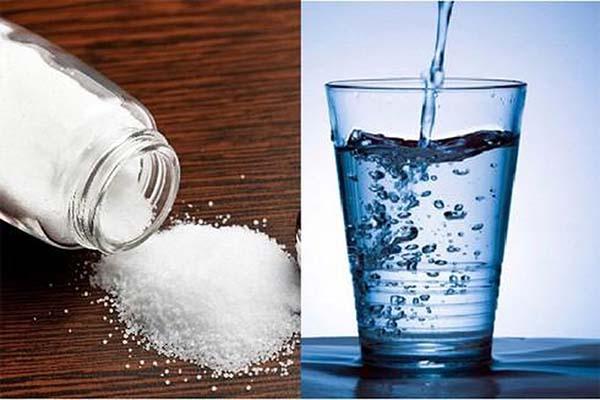 Nước muối sinh lý có nồng độ 0,9% NACL