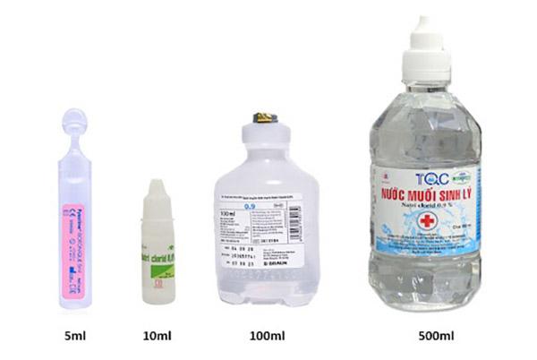 Nước muối sinh lý